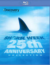 NEW Shark Week: 25th Anniversary Collection (Blu-ray Disc, 2012)