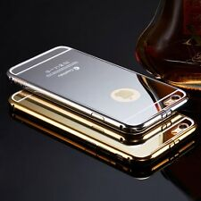 Luxury Aluminum Ultra-thin Mirror Metal Case Cover For Apple iPhone 6 6s
