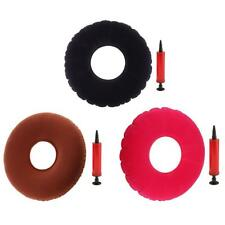 Medical Inflatable Donut Round Seat Cushion Ring Pressure Sores With Pump
