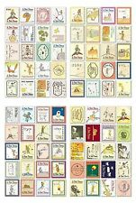 LE PETIT PRINCE STAMP STICKERS The Little Prince Vintage Craft Card French Deco