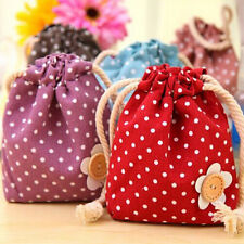 Cute Flower Coin Change Purse Wallet Cosmetic Makeup Bag Jewelry Container