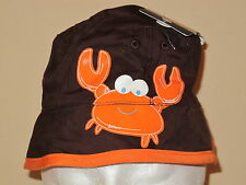 Oshkosh B'gosh Children's Bucket Hat Crab Lobster 12-24 Months 2T-4T
