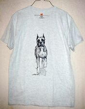 BOXER [Cropped Ears] Coming&Going Hanes T-Shirts / Adult Unisex Sizes / 2 colors
