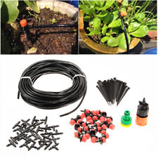 10/15/20/25M Micro Drip Irrigation System Plant Watering Outdoor Garden Hose New