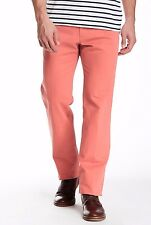 Peter Millar Raleigh Flat Front Washed Casual Pant 100% pima cotton NWT $125