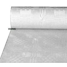 25M 100M WEDDING PARTY TABLE BUFFET BANQUETING BANQUET ROLL WHITE PAPER COVER