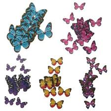 50pcs Butterfly Fairy Cake Topper Wedding Birthday Party Cupcake Centerpieces