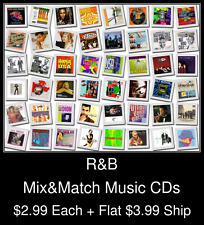 R&B(2) - Mix&Match Music CDs @ $2.99/ea + $3.99 flat ship