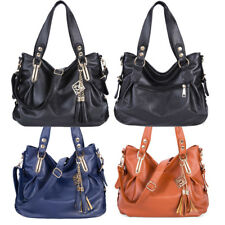 Women Luxury PU Leather Handbag Messenger Fashion Shoulder Bag Casual Tote Purse