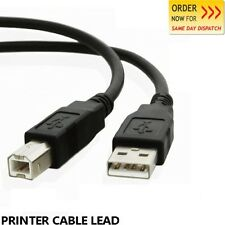 USB 2.0 Printer Lead Data Transfer Type A to B Male For PC Laptop Scanner Cable