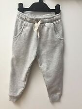 EX NEXT KIDS GREY AND PINK JOGGING BOTTOMS/JOGGERS AGE 1-11 YEARS