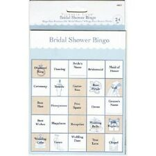 NEW BRIDAL SHOWER BINGO GAME WEDDING DECORATION PARTY SUPPLY FAVORS GAMES