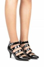 Jeffrey Campbell Women's Clarion Black Patent Stiletto Pointed Toe Heel