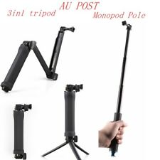 Sports Waterproof Monopod Tripod Selfie Stick Pole Handheld GoPro Hero 5 4 3+ 21