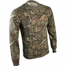 Mossy Oak Break-up Infinity Youth Boys' Camo Long Sleeve Crew T-Shirts: M