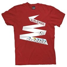 Tour De France Mountain Project Alpe d'Huez T-shirt Red