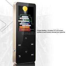 Bluetooth 8Gb Mp3 Player Lossless Sound Touch Screen Metal FM Radio Voice Record