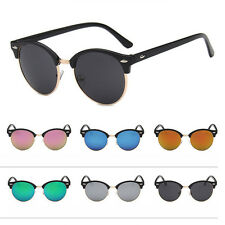 New Clubmaster Sunglasses Unisex Men Women Shades Retro Vintage UV400 Eyewear