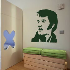 Elvis Presley Removable Wall Sticker Decal Transfer Graphic Stencils UK nic25