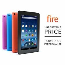 "Amazon Kindle Fire 7"" Inch (16GB) Tablet - Quad Core IPS HD Wi-Fi 2x Camera"