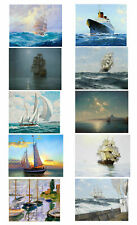 Best gift Ship Sailing Oil painting Art wall HD Picture Printed on canvas FC19