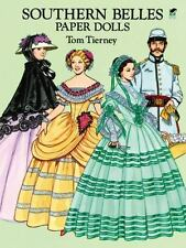 Southern Belles Paper Dolls by Tom Tierney Paperback Book (English)