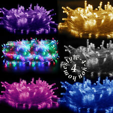 2-100 Meters Battery Mains Garden Fairy LED String Light Christmas Party Wedding