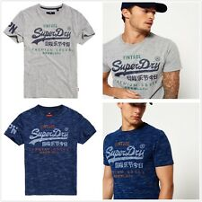 New *Superdry* Mens Premium Goods Duo T-Shirt Short/Sleeve Tee Casual Size S-3XL
