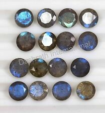 Natural Labradorite Faceted Cut Round Calibrated Size 4mm - 18mm Loose Gemstone
