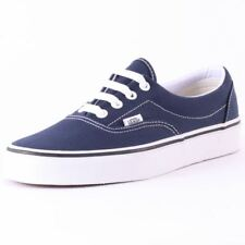 Vans Era Womens Blue Canvas Casual Trainers Lace-up Genuine Shoes New Style