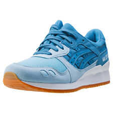 Asics Onitsuka Tiger Gel-lyte Iii Womens Trainers Sky Blue New Shoes