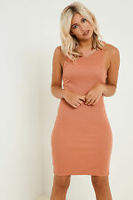Vila Falls Bodycon Jersey Dress Comfortable with Bodycon Fit and Racer-Back
