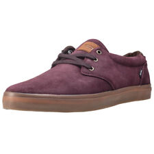 Globe Willow Mens Red Suede Casual Trainers Lace-up Genuine Shoes New Style