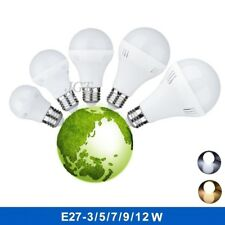E27 Energy Saving LED Bulb 3/5/7/9/12W Cool Warm White 110V / 220V Lamp Home New