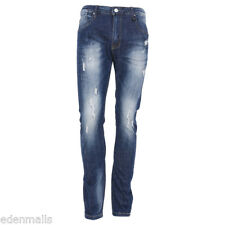 Fashion Mens Stylish Washed Denim Casual Jeans Pants Trousers straight fit Jeans