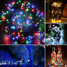 200/300/400 LED String Fairy Lights Xmas Christmas Party Lamp Tree Outdoor Deck