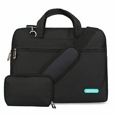 Waterproof Nylon Sleeve Carrying Case Laptop Shoulder Bag For 13/15INCH Laptop