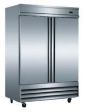 Saba Air ST-47R 2 Solid Door Reach In Refrigerator or Freezer ST-47F