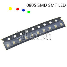 0805 SMD SMT LED Red/Green/Blue/Yellow/White 5 Colors Light Super Bright LED