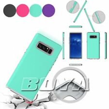 For Samsung Galaxy Note 8 shockproof phone case dual layer rigid plastic armor