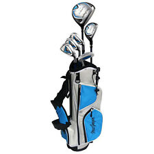 Left Handed Macgregor Junior Tourney 2 Ii Package Set Lh New Kids Golf Clubs Bag