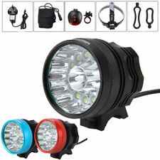 Rechargeable 45000Lm 14x XML T6 LED Head Lamp Front Bike Bicycle Light Headlight