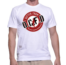 OCFD Obsessive Compulsive Fishing Disorder - Funny Fishing T-shirt - 100% Cotton