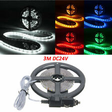 3M LED Flexible Strip Light 180 SMD 3528 Cigarette Charger Cars Trucks Dashboard