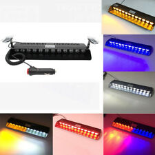 12 LED Car Police Strobe Flash Light Dash Emergency Warning Flashing Lights Bar