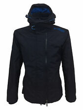 Superdry Pop Zip Hooded Arctic Windcheater Jacket in Deep Marine Blue Large