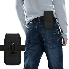 Duty Canvas Belt Clip Case Cover Pouch Holder for Samsung iPhone