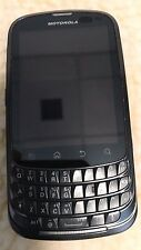Motorola XT603 Admiral Sprint Black Cell Phone Fast Shipping Very Good MINT Used