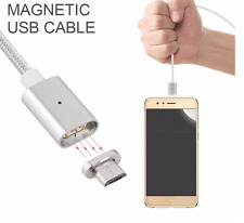 Magnetic USB Charging Cable for Android Micro USB Samsung Galaxy *USA Ship*