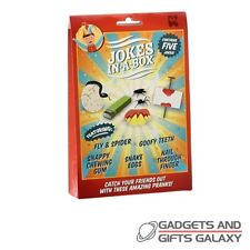 PACK OF ASSORTED JOKES x 5 CLASSICS PRANKS toy gift game novelty childs adults